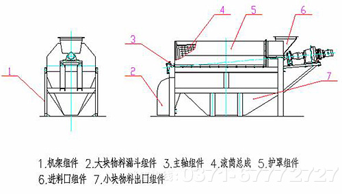 滚筒电机结构图片